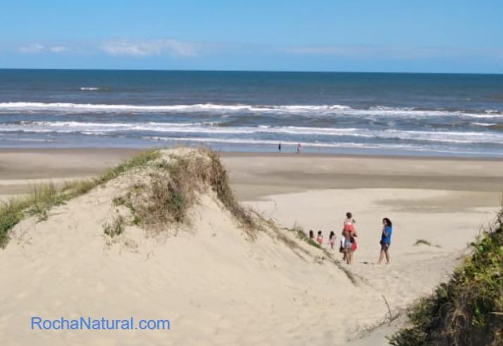 Playa Barra del Chuy Rocha